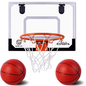 AOKESI Pro Indoor Mini Basketball Hoop Set for Kids