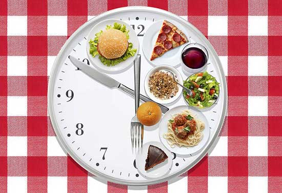 Eat A Meal Every 3-4 Hours