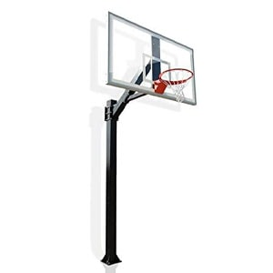 Hercules Platinum Fixed Height In-ground Basketball Hoop