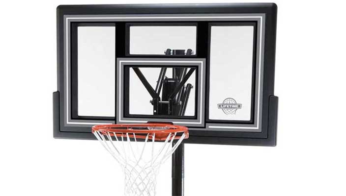 Lifetime 1084 Height Adjustable In Ground Basketball System
