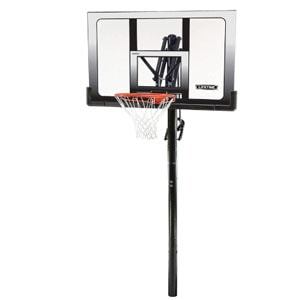 Lifetime 71281 In Ground Power Lift Basketball System