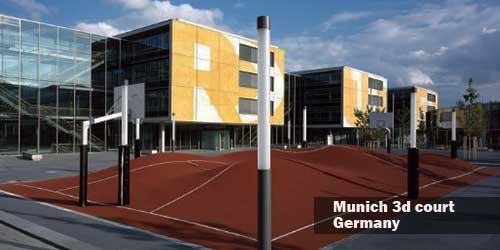 Munich Basketball Court