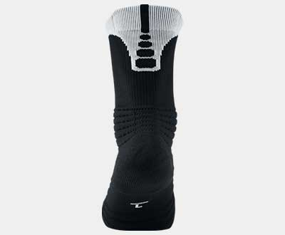 Nike Men Elite Versatility Basketball Crew Socks