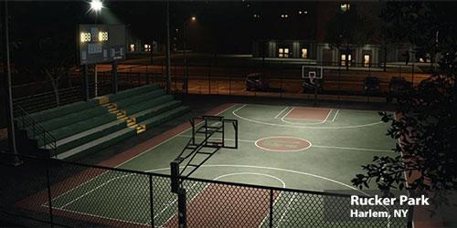 Rucker Park Basketball Court, Harlem