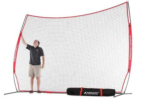Rukket 12x9ft Barricade Backstop Net for Basketball