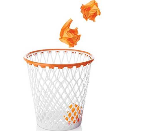 Spalding Basketball Wastebasket