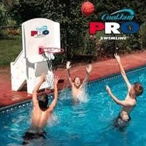 Swimline Cool Jam Pro Poolside Basketball Hoop