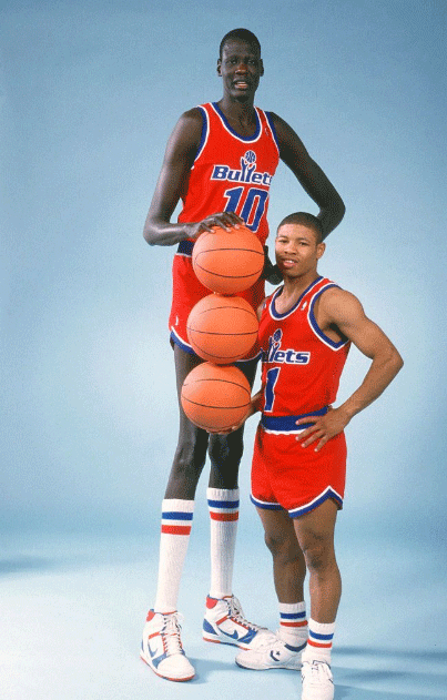 How Tall was Muggsy?