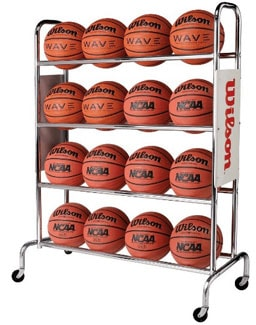 Wilson Deluxe Basketball Rack Review