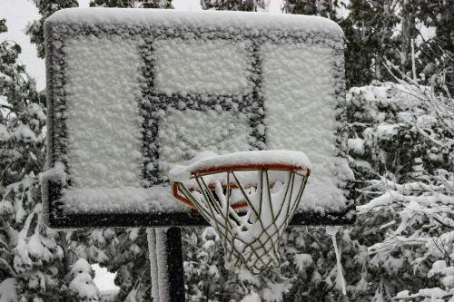 Winterizing the Portable Basketball Hoop