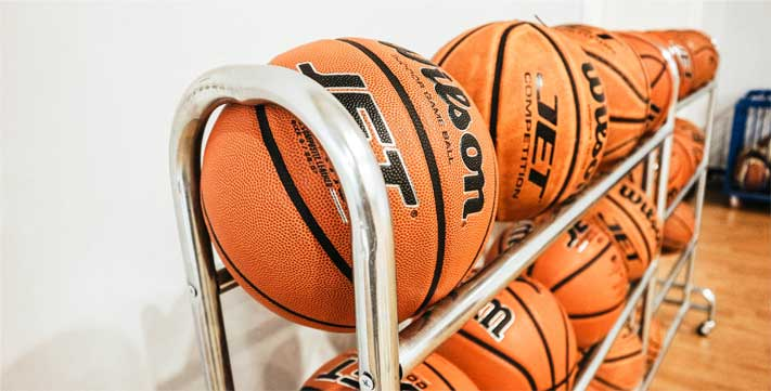 best basketball rack