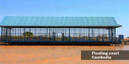 The Floating Basketball Court of Cambodia